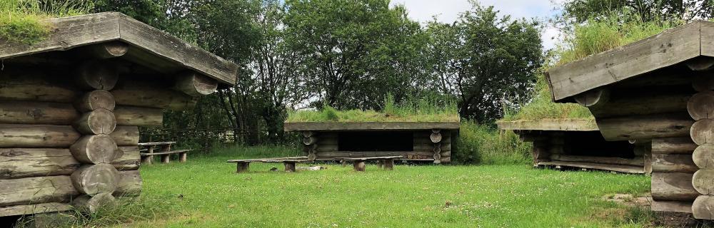 Shelterplads ved Guldager Naturskole