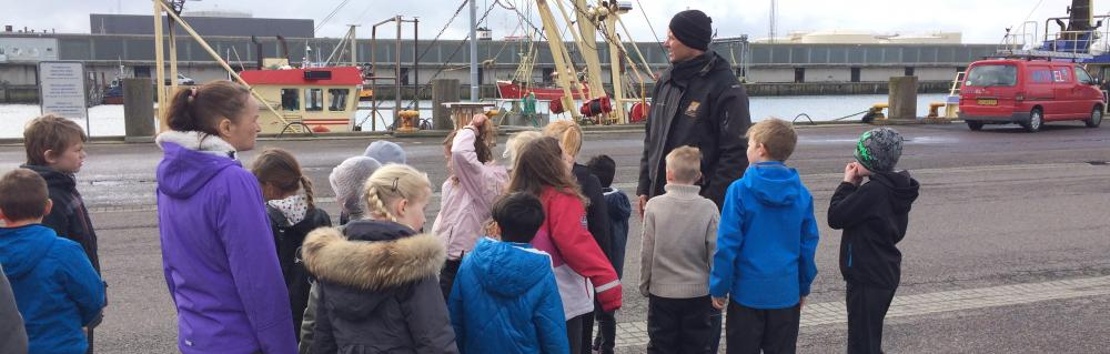 Tur på Esbjerg Havn