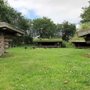 Shelters ved Guldager Naturskole