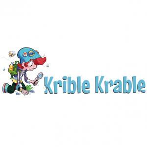 Logo for Naturvejlederforeningen, Krible-krable, Novo Nordisk fonden