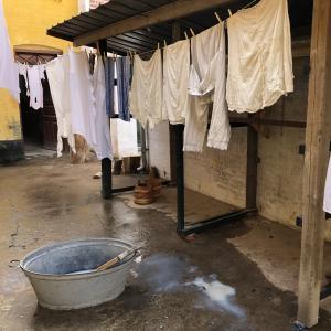 Vasketøj på snor